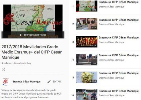 20172018_Vídeos_Erasmus_CIFP_César_Manrique