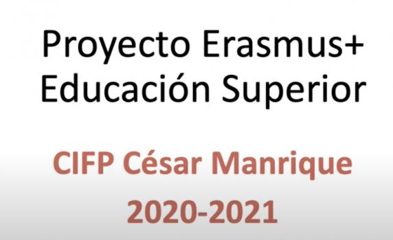 Erasmus CIFP César Manrique